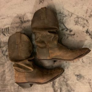 Women's Double H Slouch Cowboy Boot Size 9.5